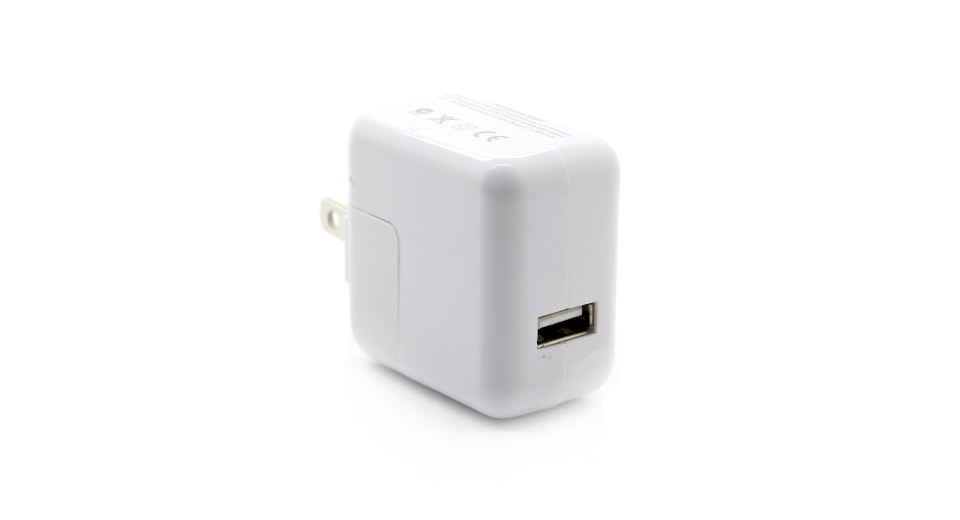 Image of 1.10A USB Power Adapter/Wall Charger (US Plug)