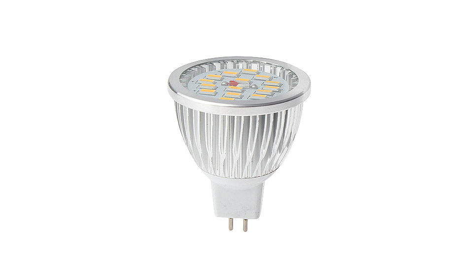 MR16 7W 15-LED 600-Lumen 3200K Warm White Light Bulb 7W, 15*SMD, 600LM, 3200K