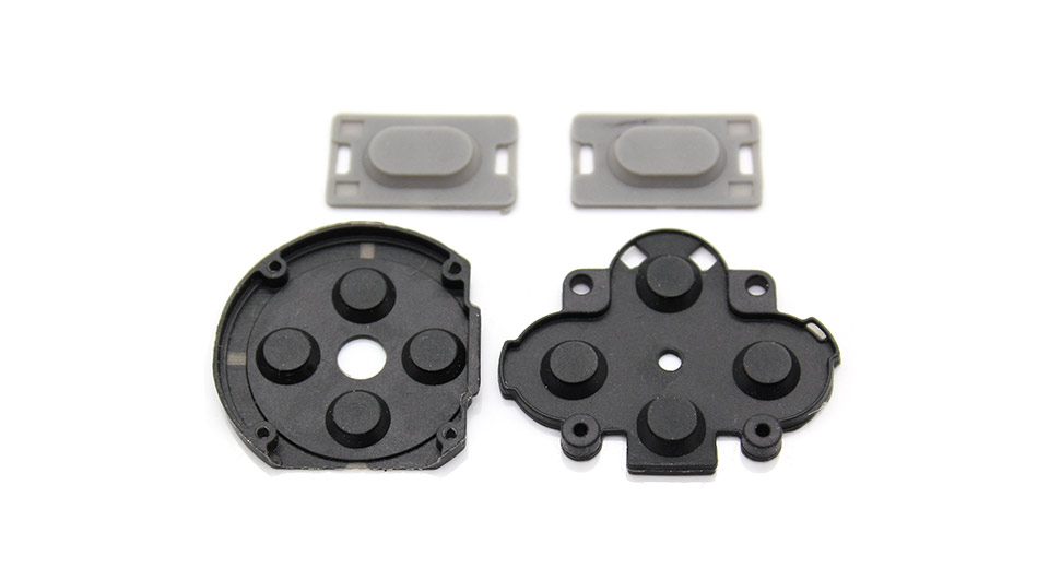 Replacement Conductive Silicon Pad for PSP 1000 Button Switch 4-piece Set