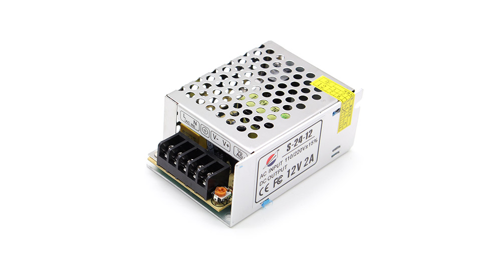 5 64 12v 2a Regulated Switching Power Supply Ac 110