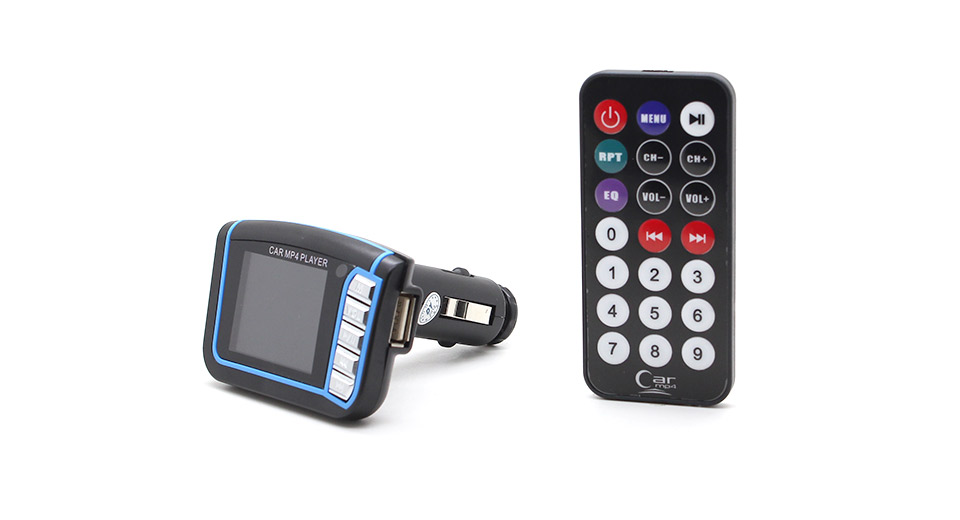 1.8 LCD MP3/MP4 Player FM Transmitter with Remote Controller