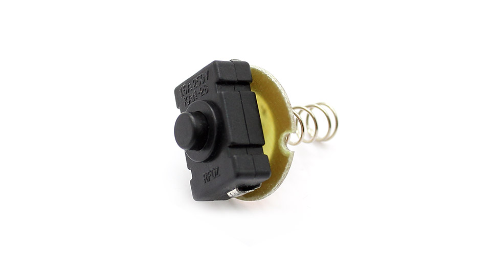 Image of 1.5A 250V Clicky Switch for LED Flashlights (KAN-28)