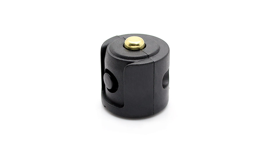 Side Mounted Clicky Switch with 3.5mm Power-in Port for 18650 LED Flashlight