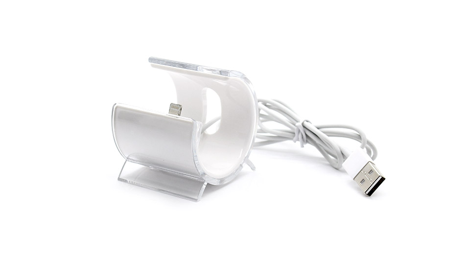 Stylish Sync / Charging Docking Station with USB Cable for iPhone 5