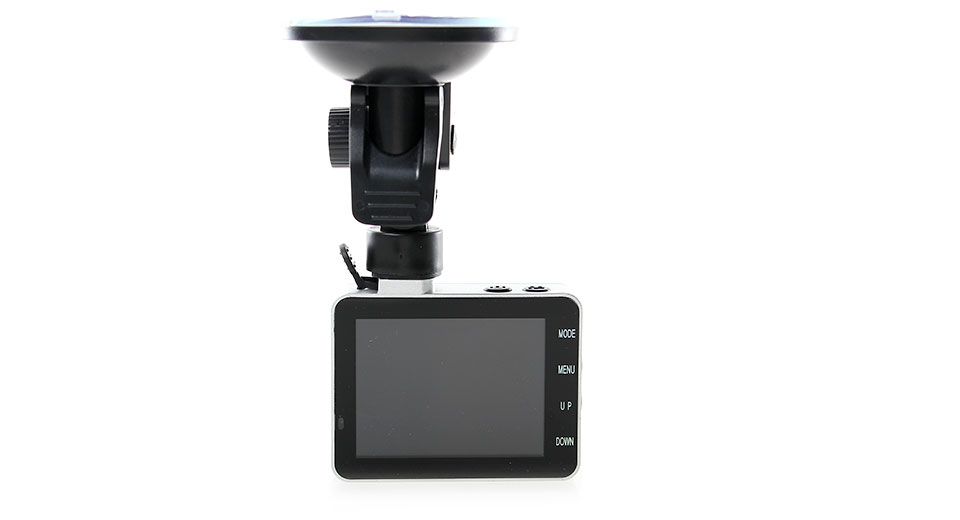 1080P 3MP Wide Angle Car DVR Camcorder w/ HDMI/TF Slot (2.6 TFT LCD)