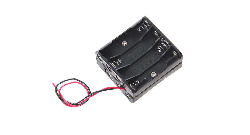 $1.22 8*AAA Battery Holder Case with Lead Wires - serial