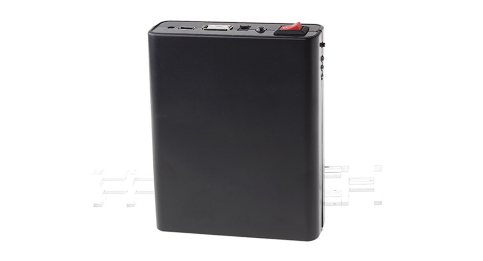 4x18650 Emergency Mobile Power Rechargeable Batteries Pack Charging Box for iPhone / iPad / iPod
