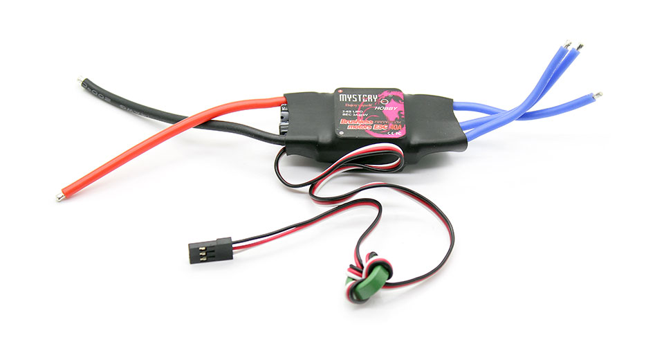 40A Brushless Electric Motor Speed Controller for R/C 450 + More