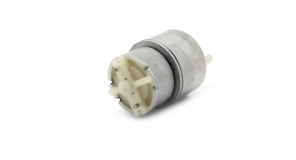 6v dc gear motor gb37y500 17rpm no load for Dc gear motor specifications