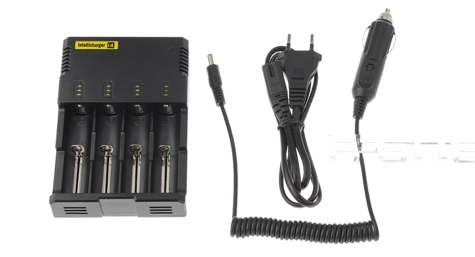 Authentic Nitecore I4 Lithium Li-ion Ni-MH Ni-Cd Smart Battery Charger
