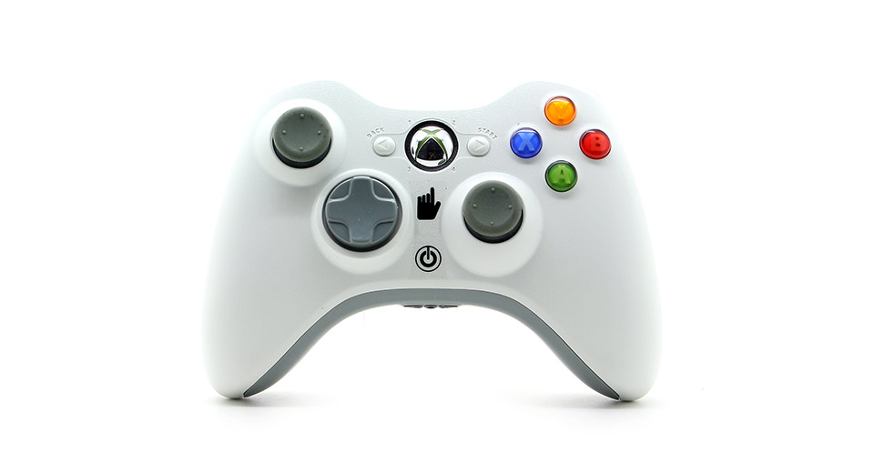 Image of 2.4GHz Wireless Game Controller with No PC USB Receiver for PC/Xbox 360