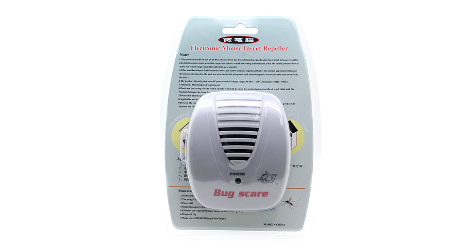 Bug Scare Ultrasonic Electrical Mouse ...