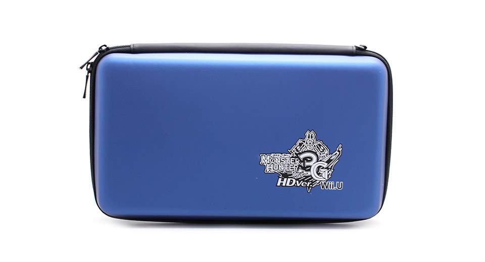 Image of CITYWOLF Monster Hunter Protective Dual Zippers EVA Hard Carrying Case for Nintendo Wii U