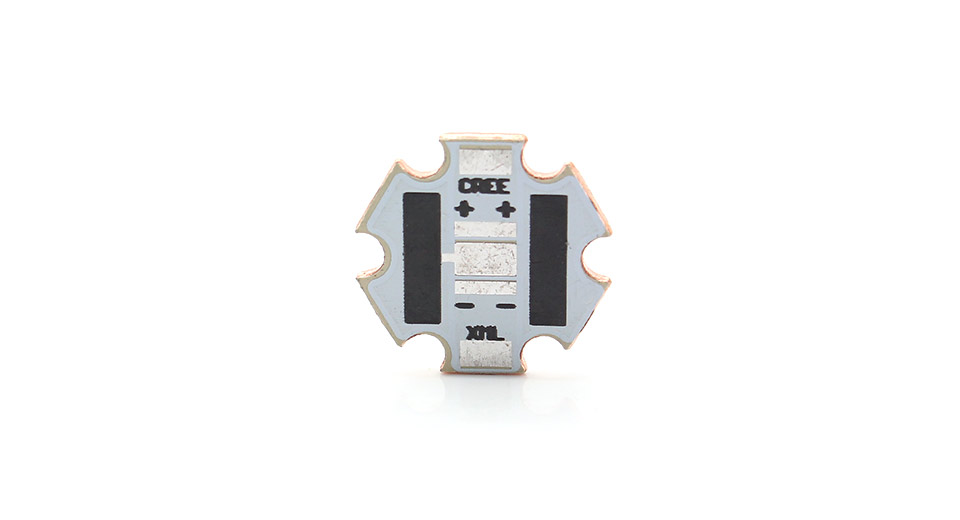 Copper LED Star Base Plate for Cree XM-L