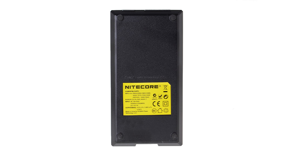 Authentic Nitecore I2 Lithium Li-ion Ni-MH Ni-Cd Smart Battery Charger (EU)