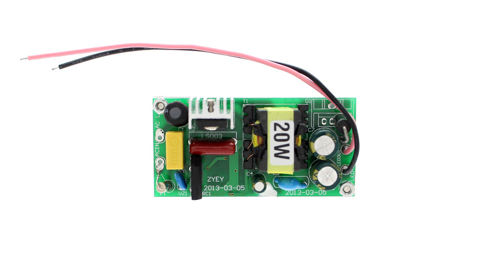 85-265V 20W High Power Constant Current LED Driver