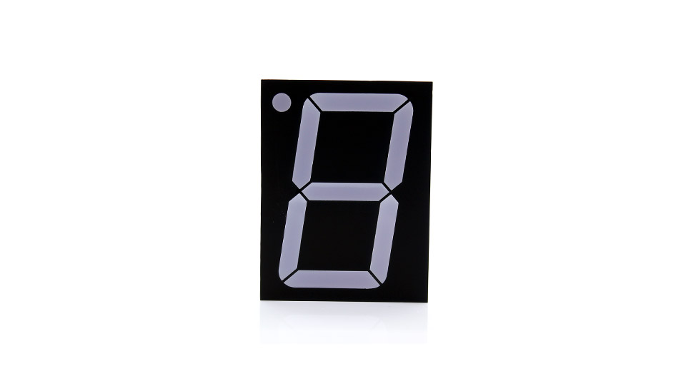 GEM30101BE 3.0 10-Pin 1-Digit Common Anode Numeric LED Display