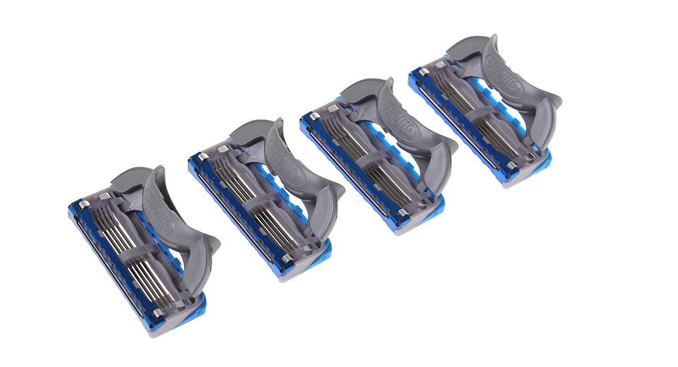 Image of Authentic Gillette Fusion Proglide Power Refill Razor 5-Blade Cartridges (8-Piece Pack)