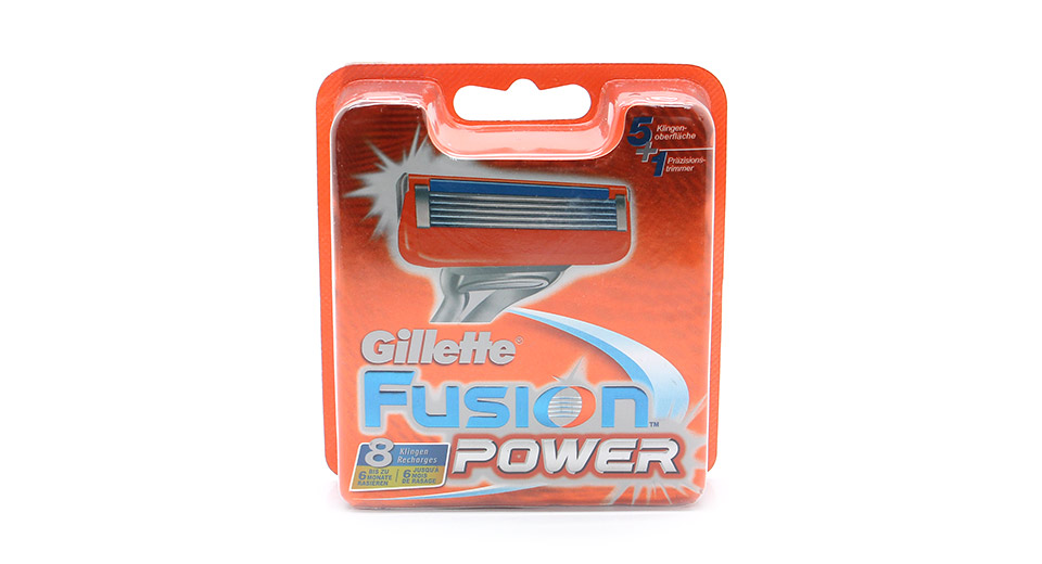 Image of Authentic Gillette Fusion Power Refill Razor 5-Blade Cartridges (8-Piece Pack)