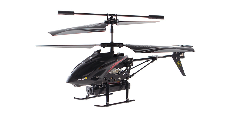 WLtoys S215 Gyro iPhone/Android Controlled 3.5-Channel R/C Helicopter with Camera