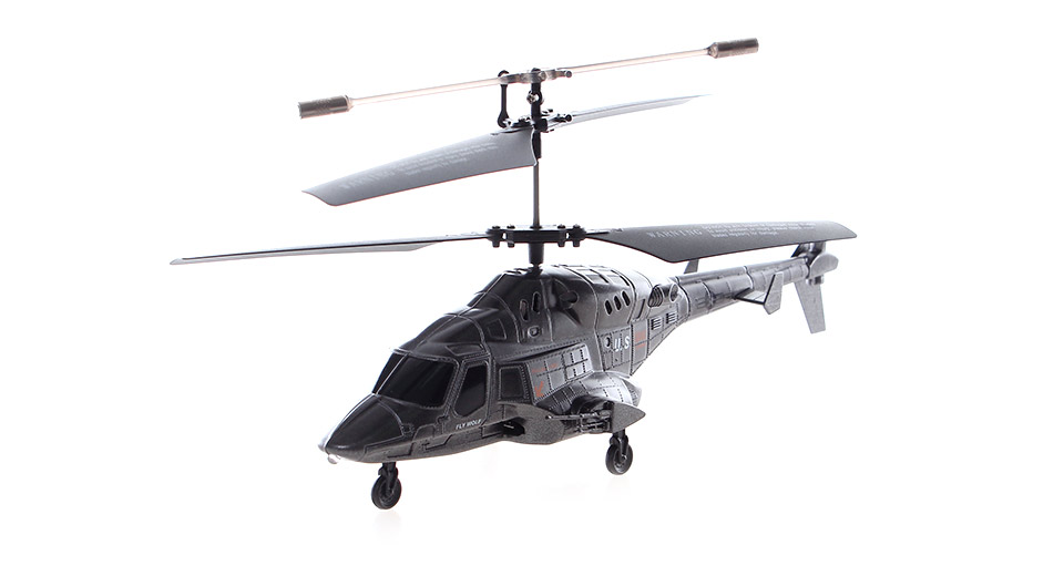 UDI U810A Apple/Android Controlled 3.5-Channel Missile Launching R/C Helicopter with Gyroscope