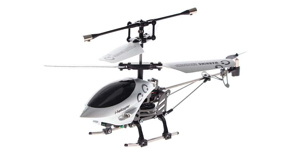 Happy Cow 777-172 i-Helicopter Apple iDevices Controlled 3-Channel R/C Helicopter w/Gyro