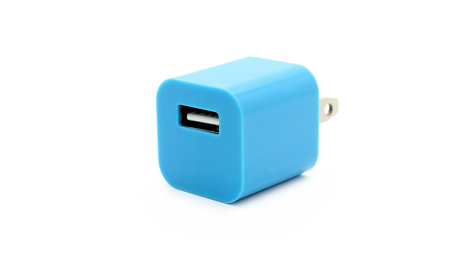 1A AC USB Power Adapter/Charger for Apple iDevices