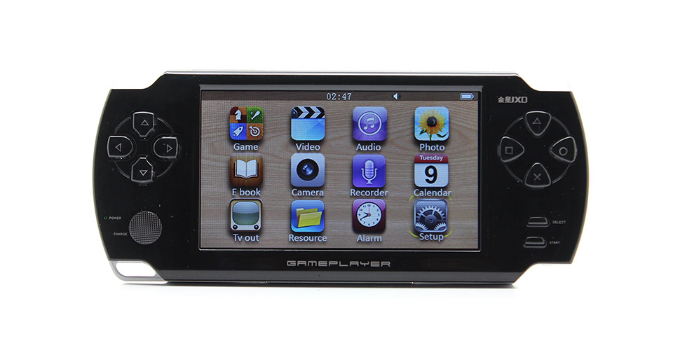 "JXD A1000 4.3"" LCD Screen Game Console (4G / Black)"