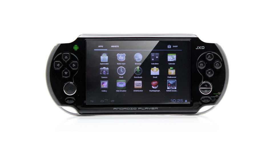"Image of JXD S5110 5"" Capacitive Touch Screen Android 4.1.1 ARM Cortex A9 Game Console (4G / Black)"