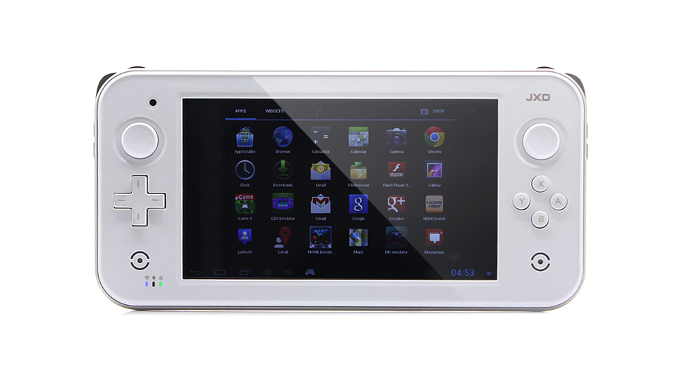 "JXD S7300 7"" Capacitive Touch Screen Android 4.1 ARM Cortex A9 Dual Core Game Console (8G / White)"