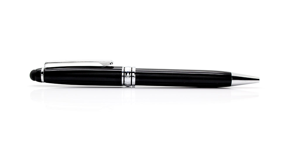Image of 2-in-1 Capacitive Touch Screen Stylus + Pocket Ball-point Pen