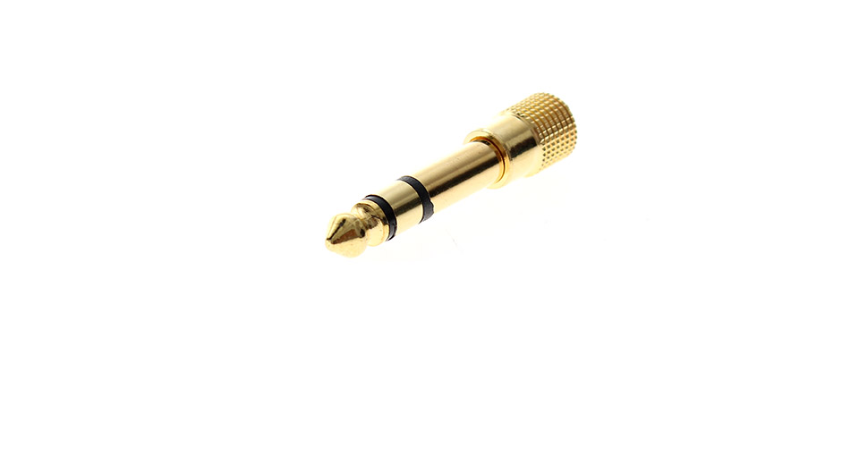 Product Image: 6-3mm-male-to-3-5mm-female-audio-adapter-gold