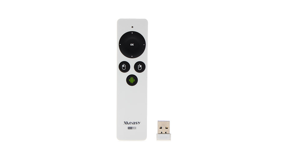 Measy RC9 2.4GHz Wireless Fly Air Mouse Remote Control