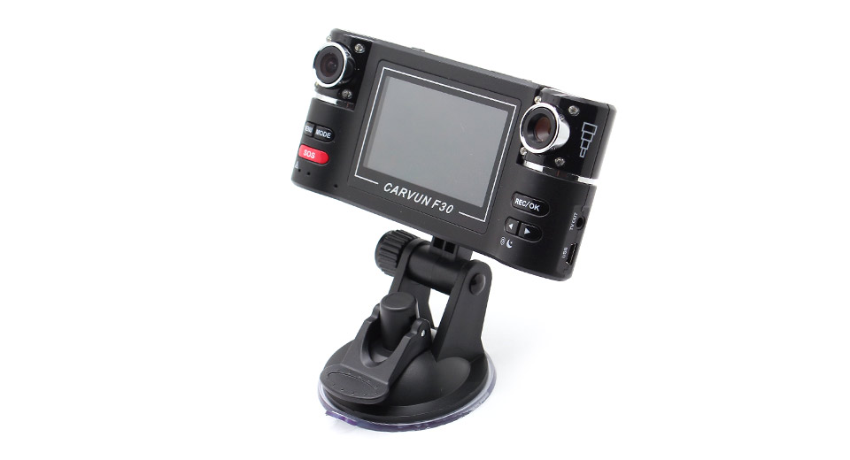 "F30 2.7"" TFT 5MP CMOS Sensor Vehicle Car DVR Camcorder"
