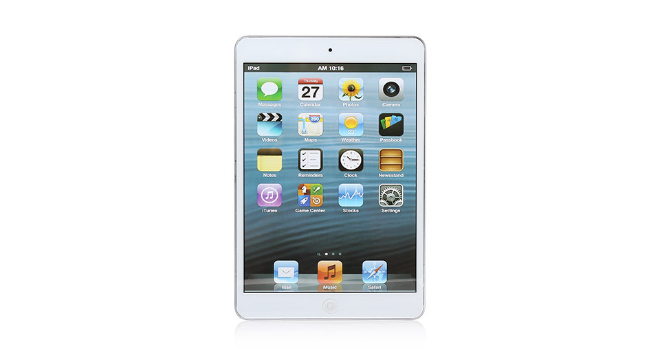 Image of Fake Non Working Display Dummy iPad Mini Sample Model (White)
