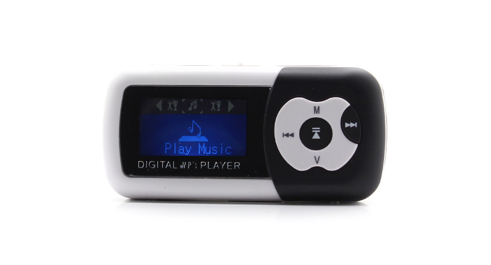 "Image of 1.1"" OLED Screen MP3 Music Player with TF Card Slot / Speaker (Black)"