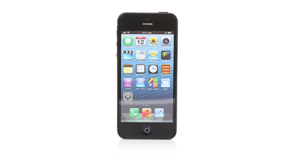 Image of Fake Non Working Display Dummy iPhone 5 Sample Ultra Value (Black)