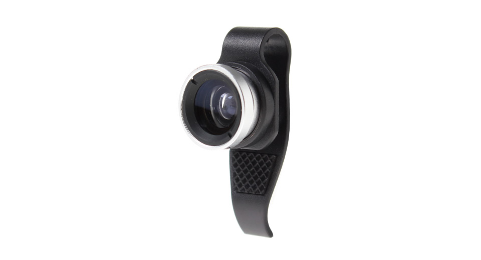 Clip-on Wide Angle + Macro Lens for iPhone 4 / 4S / 5
