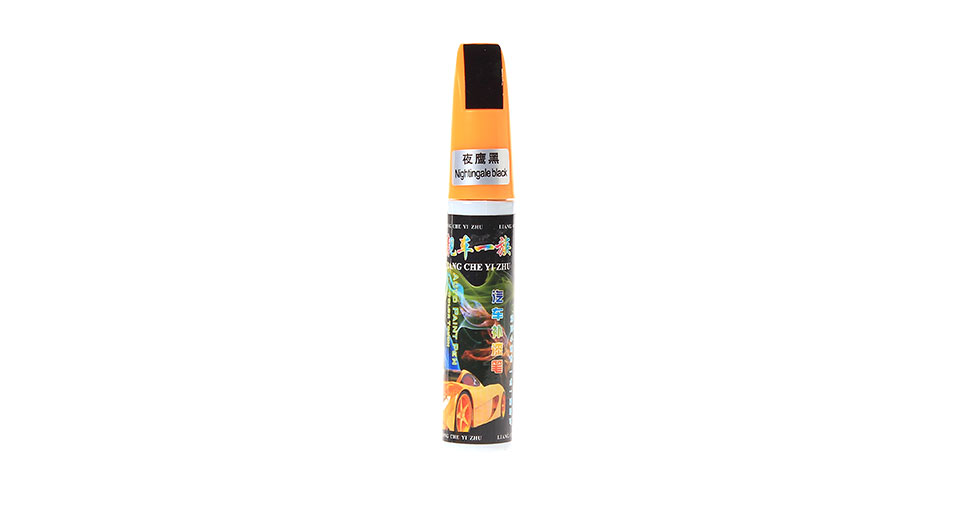 Image of 12ml Car Body Paint Scratch Repair Pen (Nightingale Black)