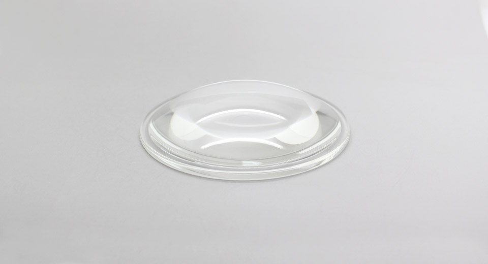 Image of 100mm 5-120 Degrees Plano-Convex Lens