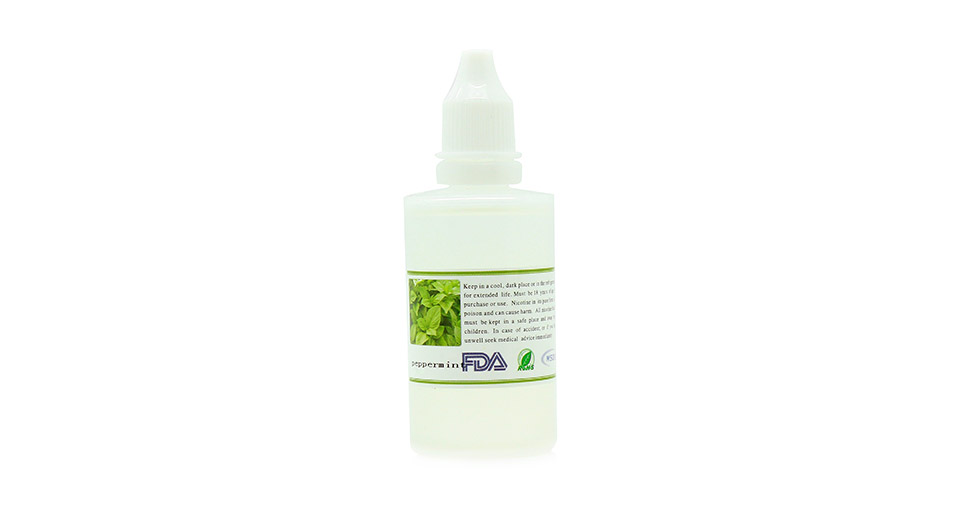 Dekang E-liquid for Electronic Cigarettes, 50ml Peppermint Flavor, Nicotine 12mg/ml