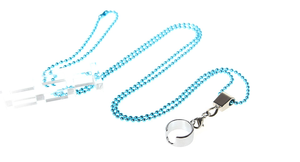 Electronic Cigarette Lanyard Neck Sling with a Ring