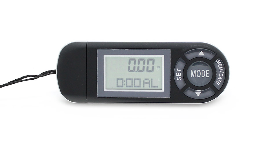 Multi-function KYTO PDM-2608 USB 3D Intelligent Pedometer with 1.2 LED Display