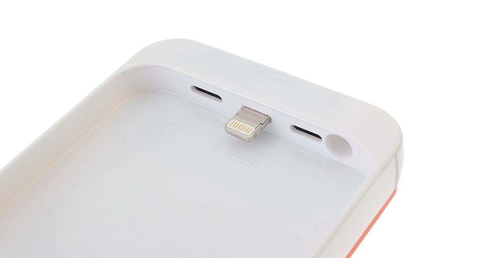 3000mAh Rechargeable External Battery Back Case for iPhone 5