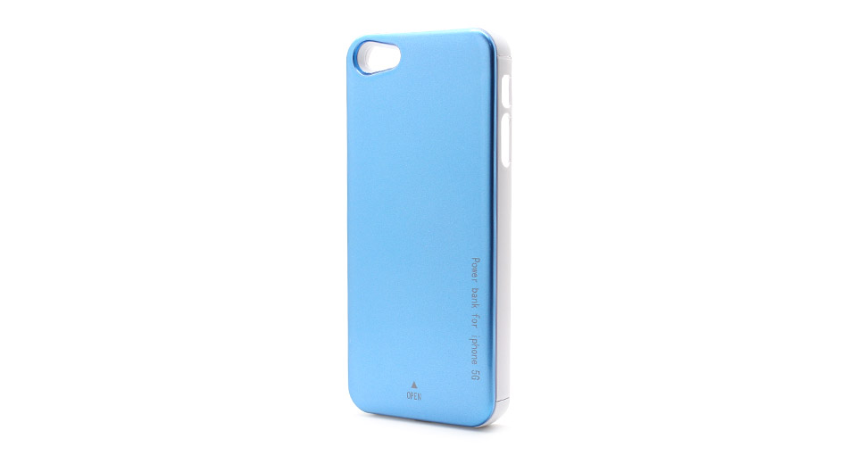 2000mAh Rechargeable External Battery Back Case for iPhone 5