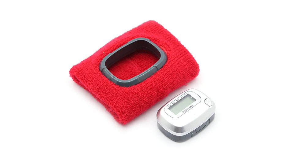 Multi-Functional Wristguard Style Pedometer w/ LED Display