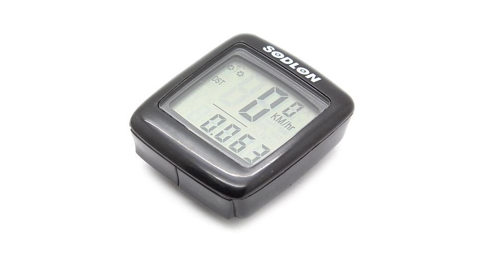 201A 1.6 LCD Electronic Bicycle Computer / Speedometer