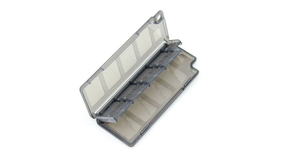 Image of 10-in-1 Protective PC Game Card Cartridge Case for PS Vita