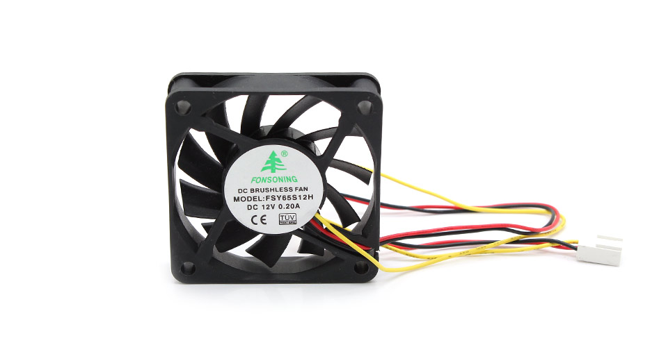 Image of 3-Pin Computer Case Cooling Fan