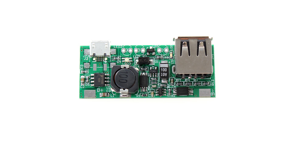 Image of 1-1.6A DIY Single USB Mobile Boost Power Supply PCBA Module